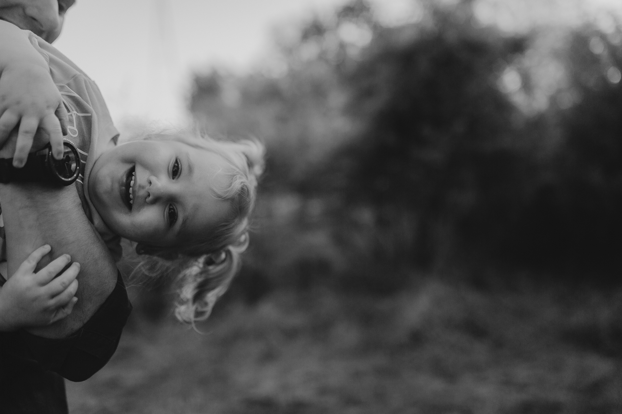 black and white toddler silly maternity motherhood family lifestyle documentary Claude Moore Park Sterling Loudoun Virginia Golden Hour Sunset spring Marti Austin Photography