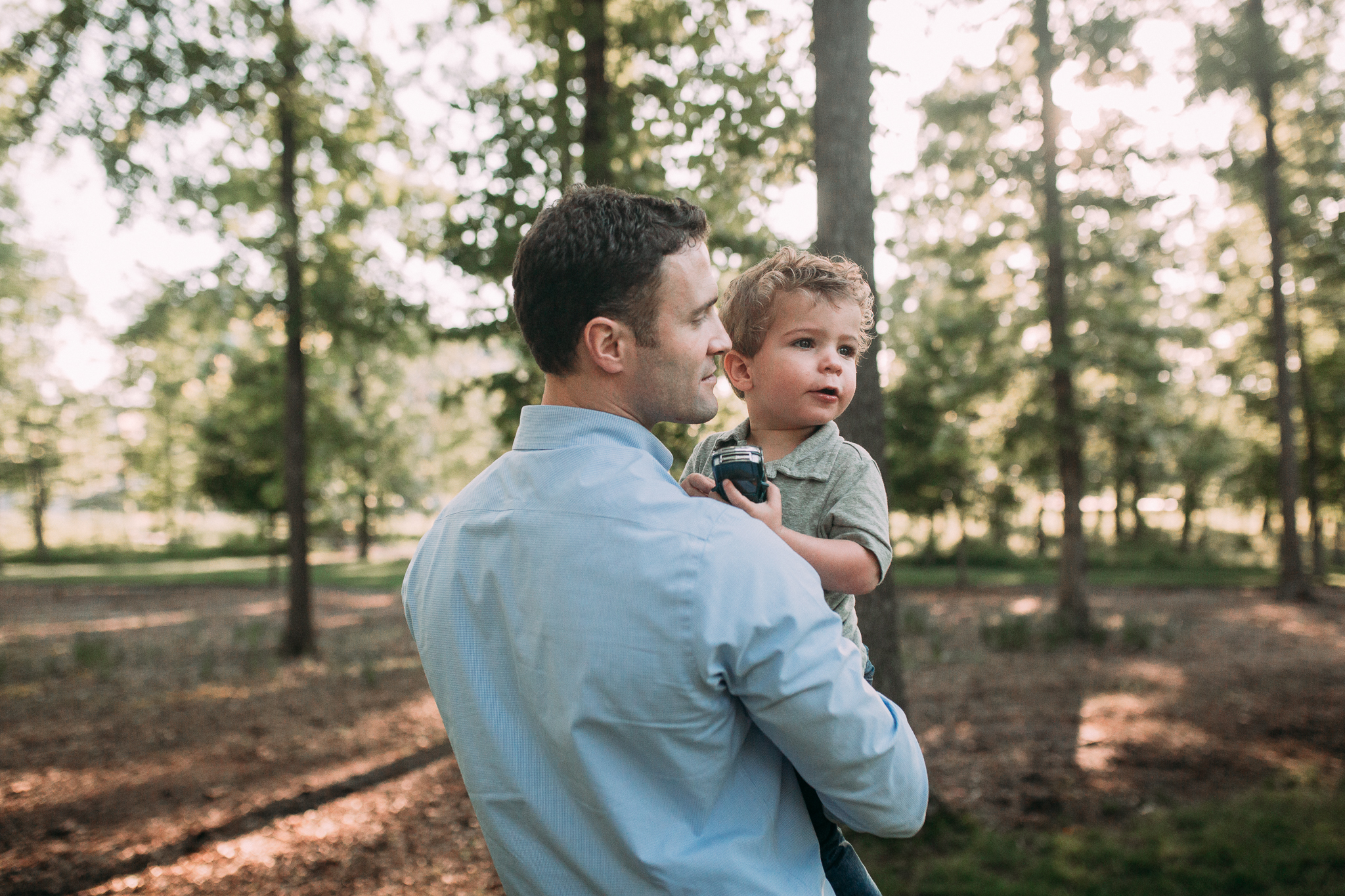 father son outdoor sunset golden hour The Barn at One Loudoun Ashburn Northern Virginia Liifestyle Documentary Family Marti Austin Photography