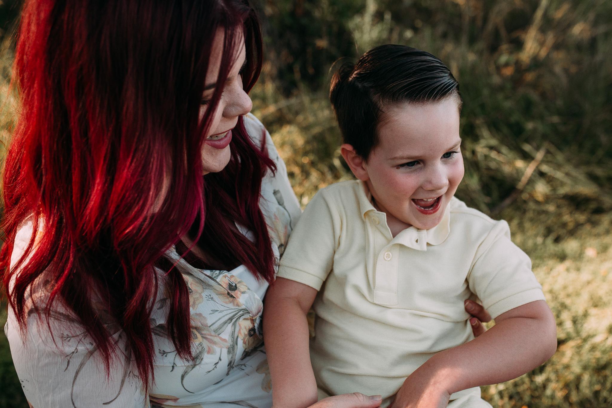 mother  son  tickle giggle laugh   Brambleton Beaverdam Reservoir Loudoun Virginia Lifestyle Documentary Family Marti Austin Photography