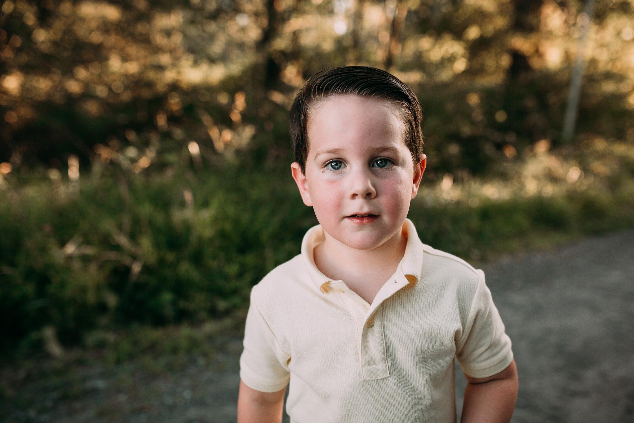boy portrait golden hour  Brambleton Beaverdam Reservoir Loudoun Virginia Lifestyle Documentary Family Marti Austin Photography