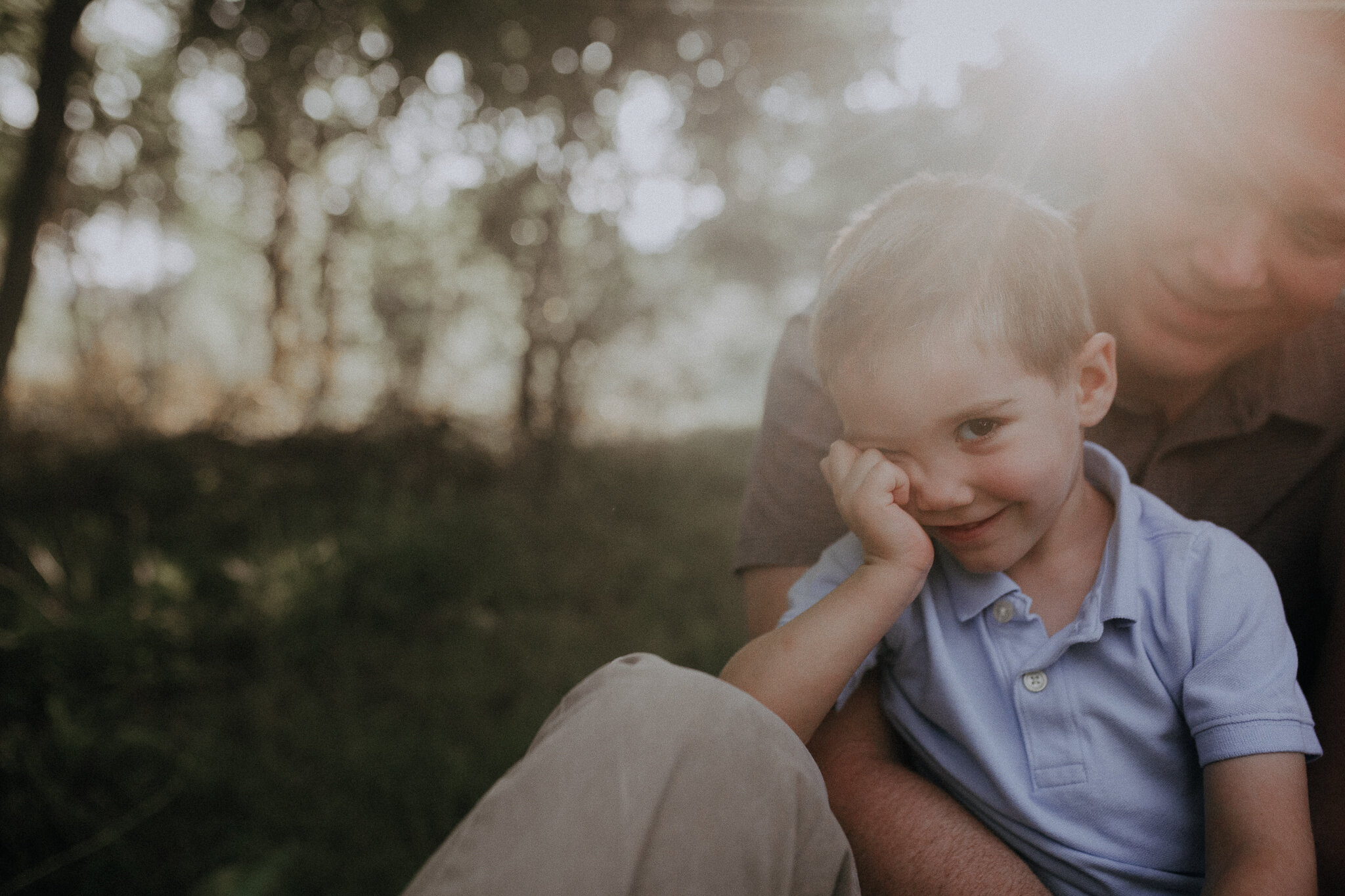 father son sunset golden hour light brothers Ida Lee Leesburg Loudoun Virginia Lifestyle Documentary Maternity Family Marti Austin Photography