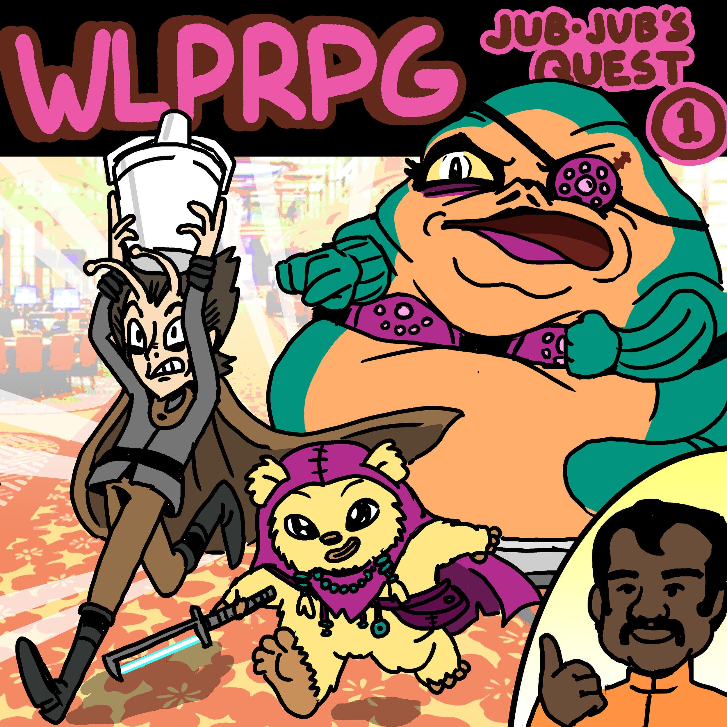 Jub-Jub's Quest #1 illustration