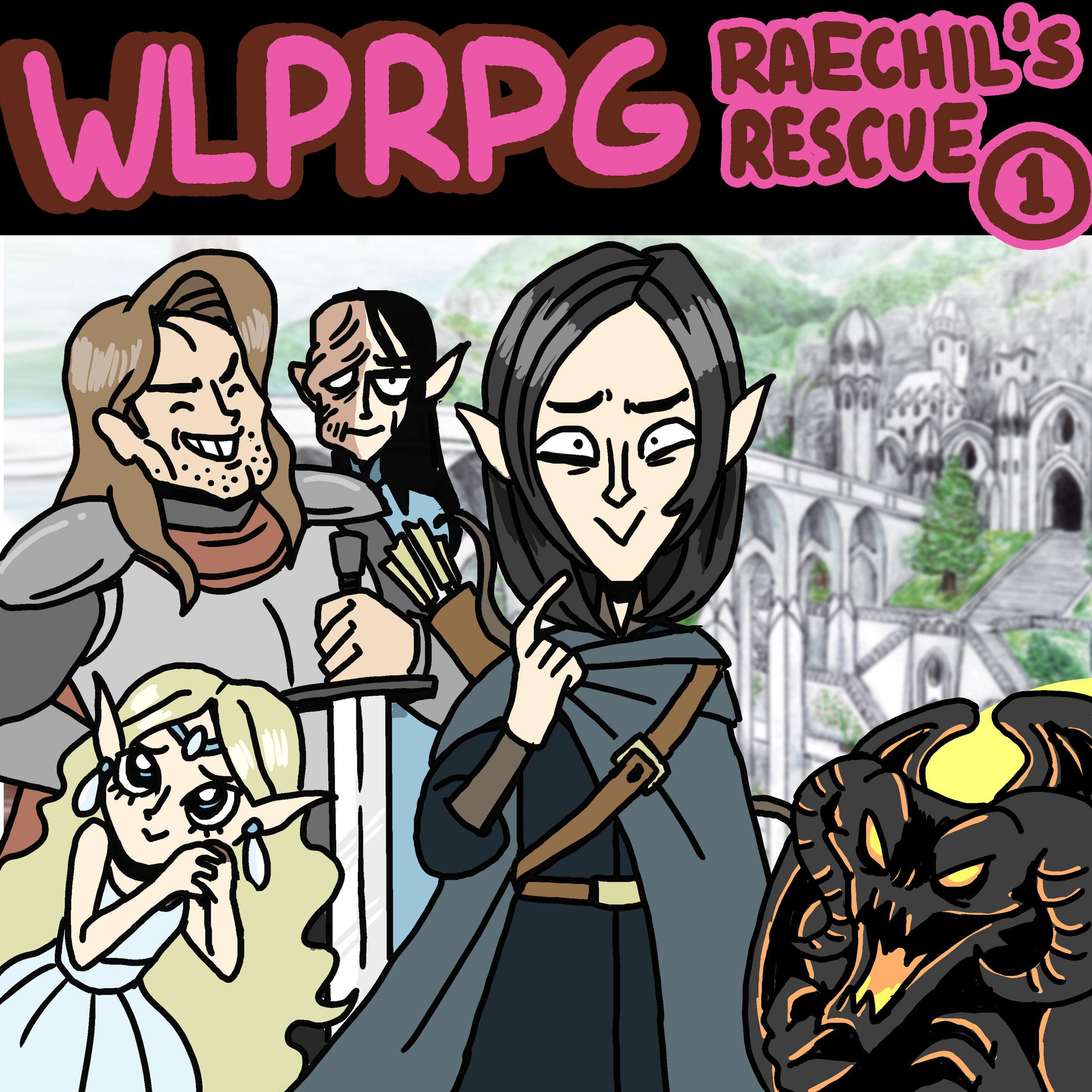 Raechil's Rescue #1 Illustration