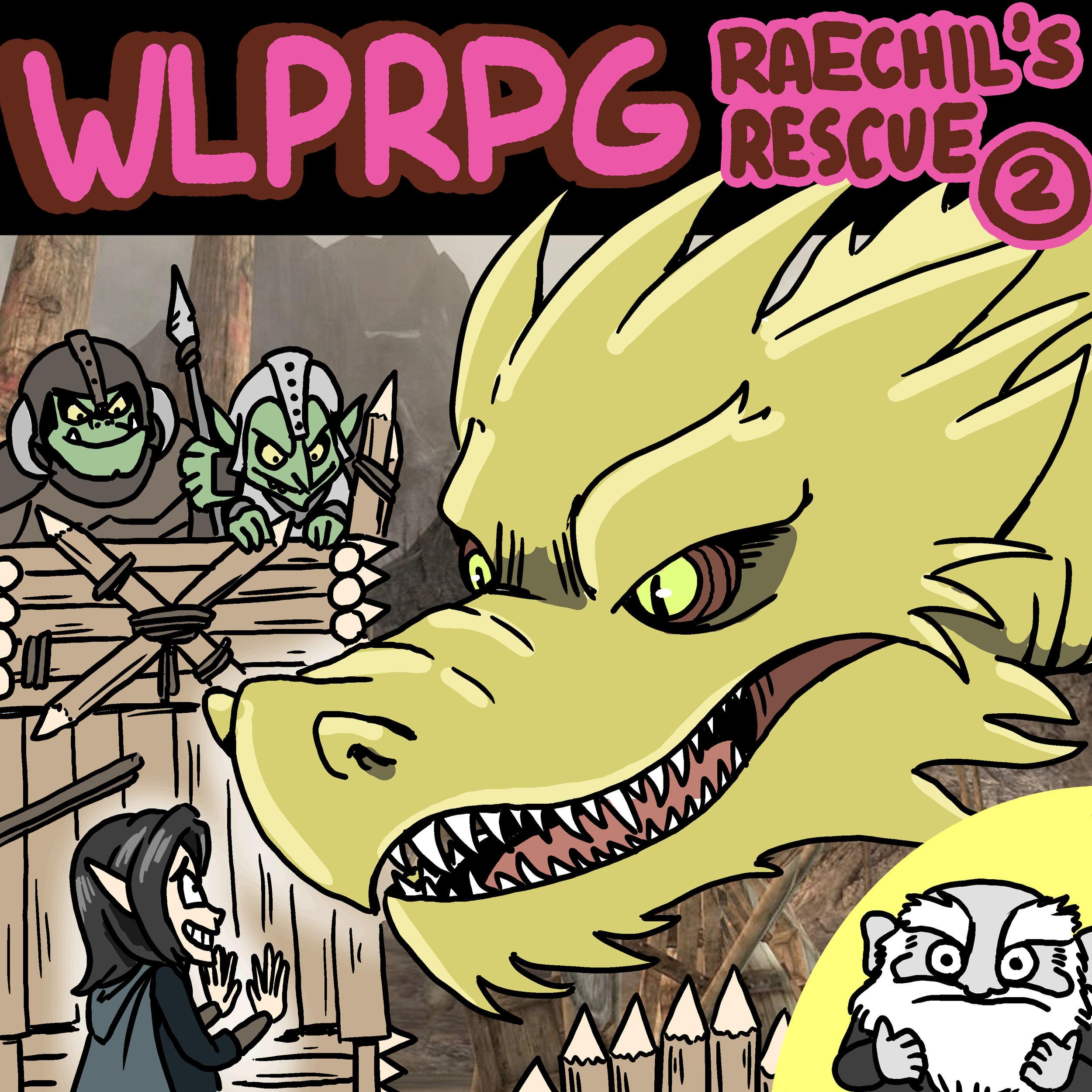 Raechil's Rescue #2 Illustration