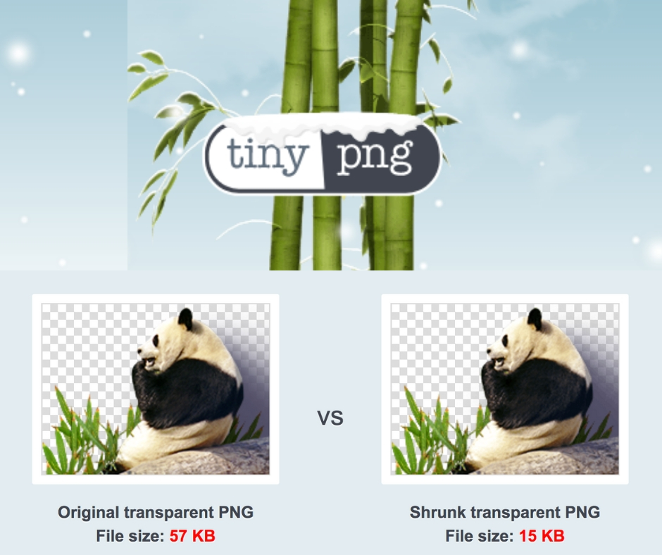 TinyJPG and TinyPNG for image compression so your site will load faster