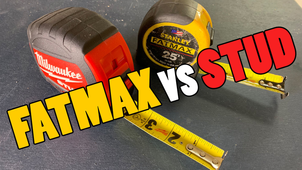 Tool Review - Milwaukee STUD vs Stanley FATMAX - Which tape