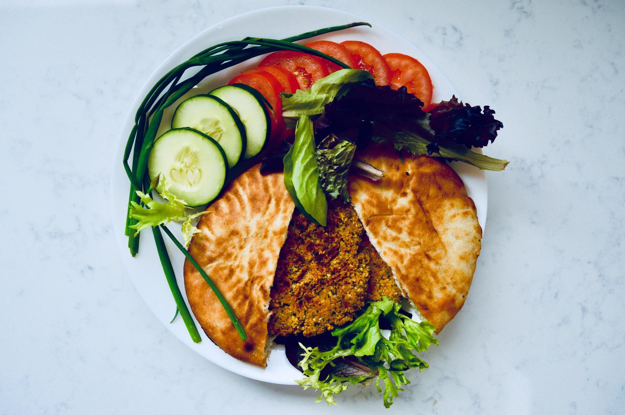 falafel, plant based, vegan, vegetarian, clean eating, protein, fiber, healthy, homemade, modern homestead, radical self care