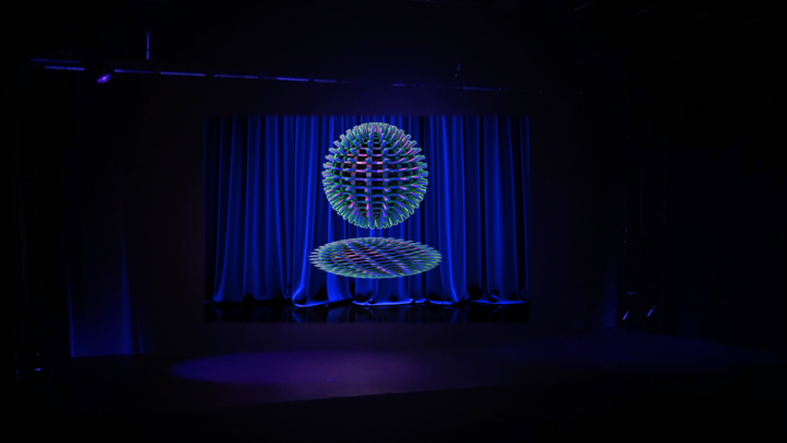 Utilize holographic technology to engage your audience. We can bring the technology to you, or as seen here, you can use our holographic theater at the Ariel International Building in Cleveland, Ohio.