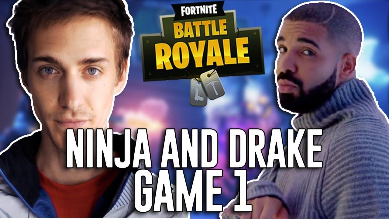 Ninja + Drake +Fortnite = Crossover Heaven