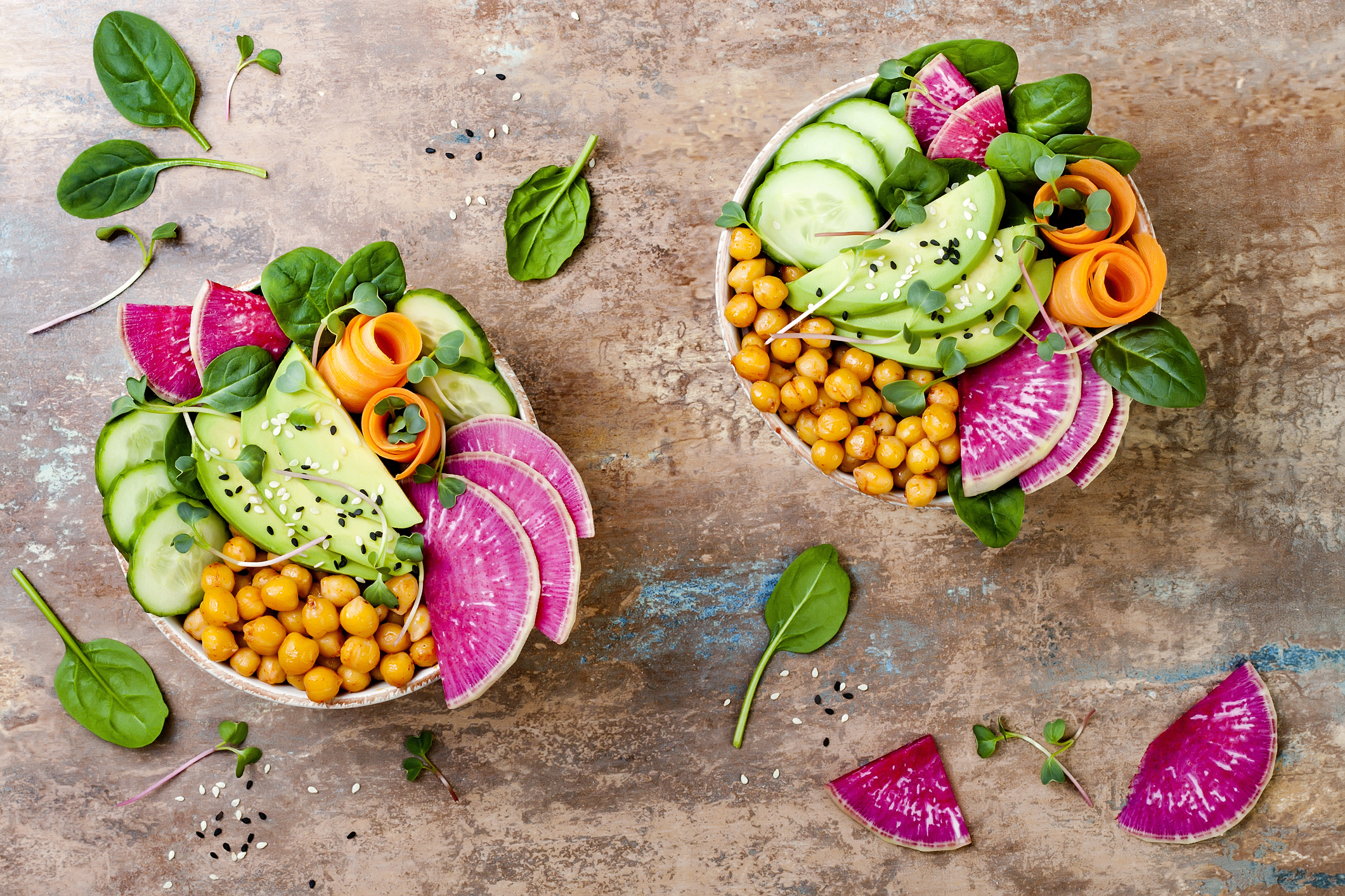 Vegansk bowl