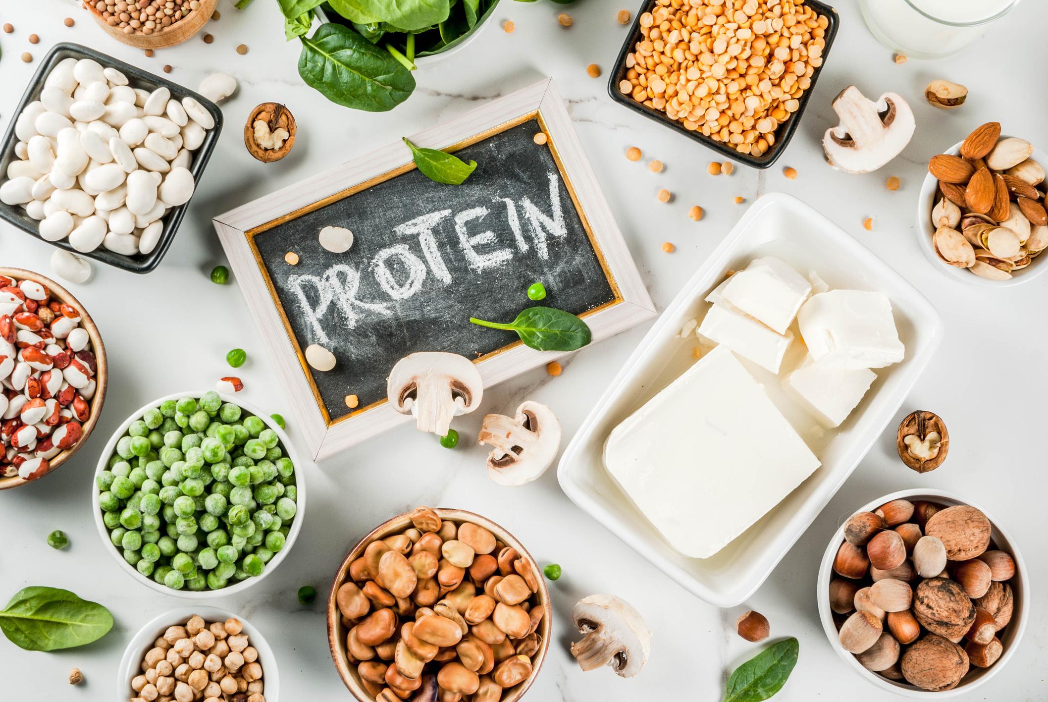 Der findes masser af plantebaserede proteinkilder