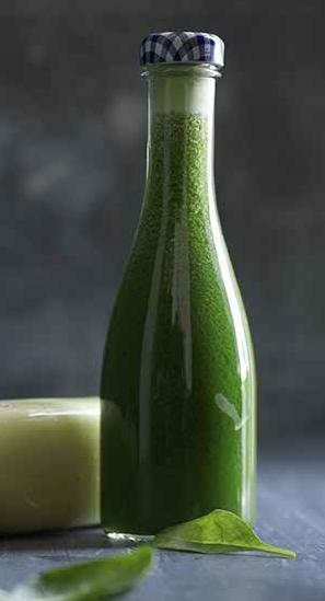 grøn-juice-i-flaske