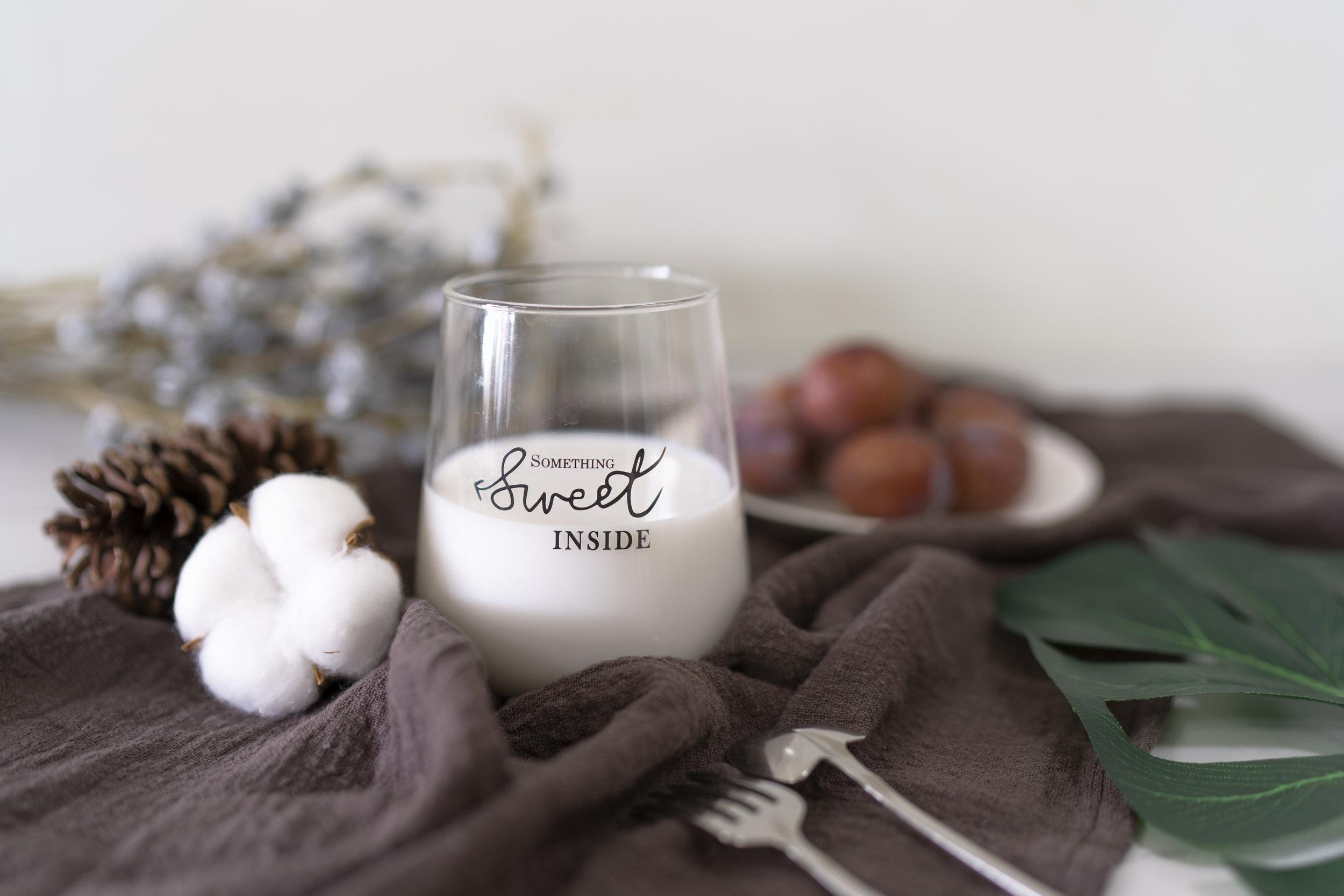 mandel-mælk