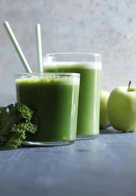 grøn-juice-til-morgenmad