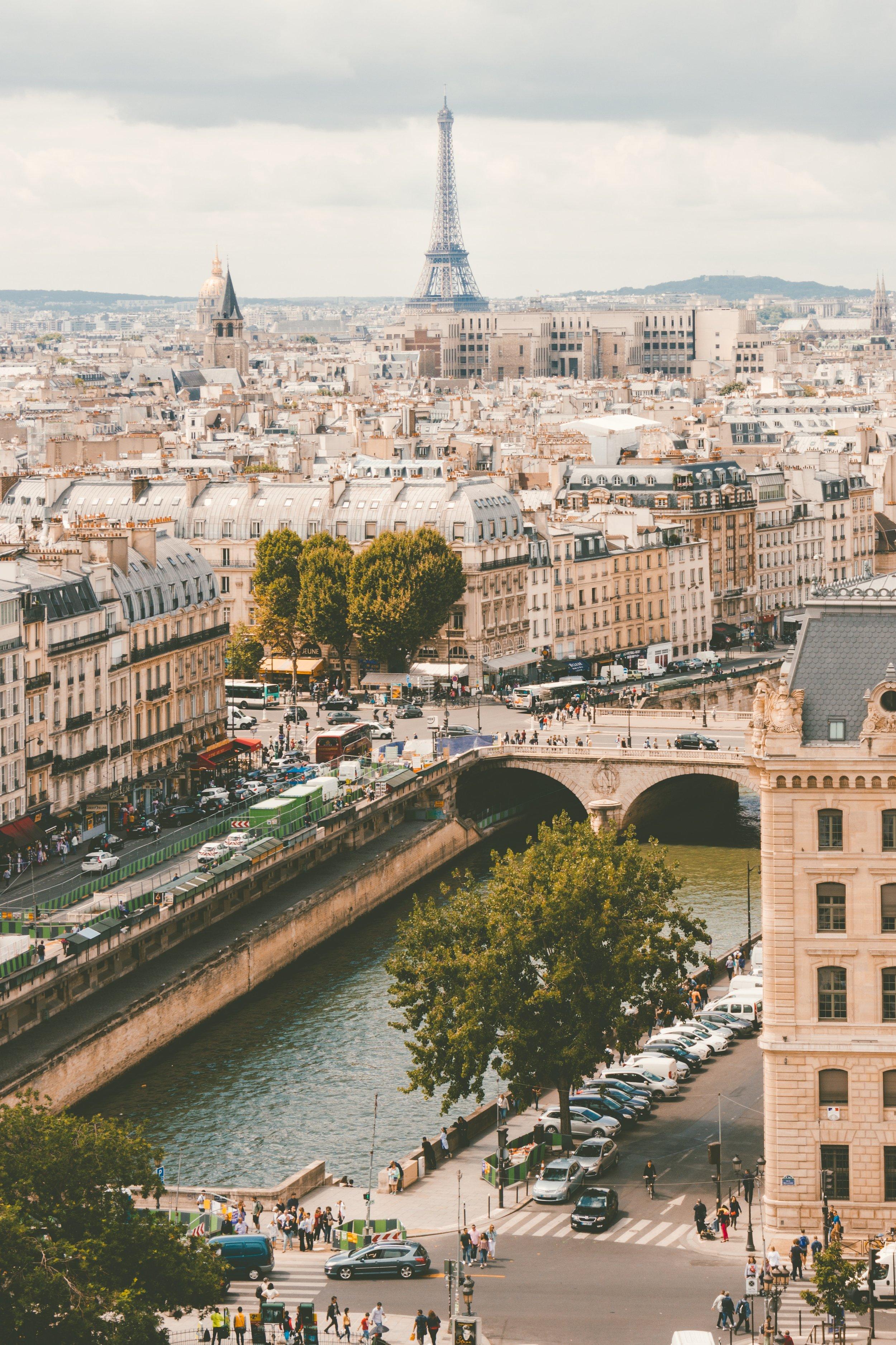 Working in Paris