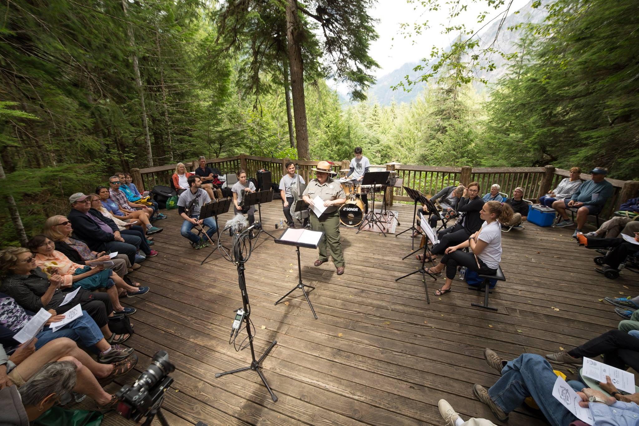 American Wild Ensemble.Newhalem, WA.Image by Geoff Sheil.