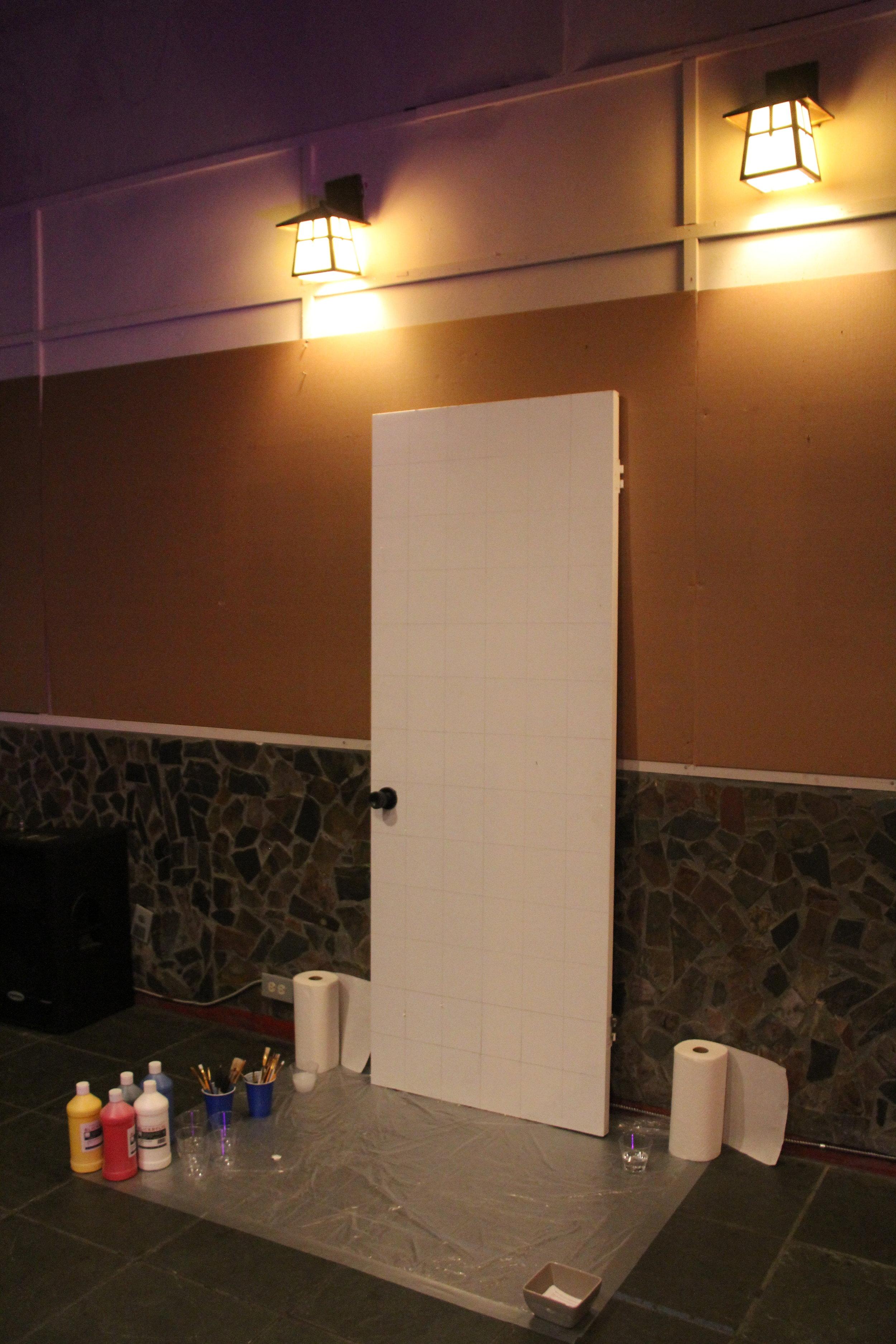 Collaborative Painting Doorway