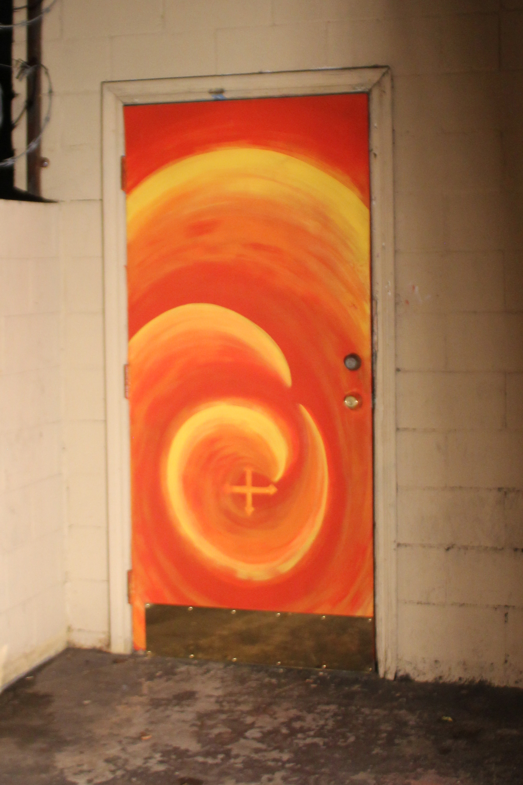 Randy's Doorway - Spirit Studio Door