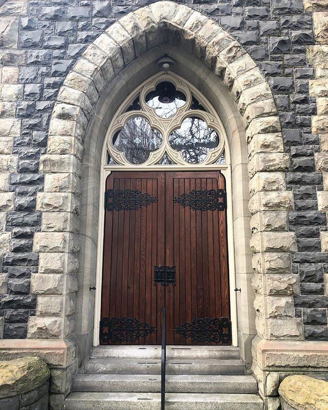 Church doors from @jkavanaughty. #doorwaysartshow #friendsdoorways #doorwaysofportland
