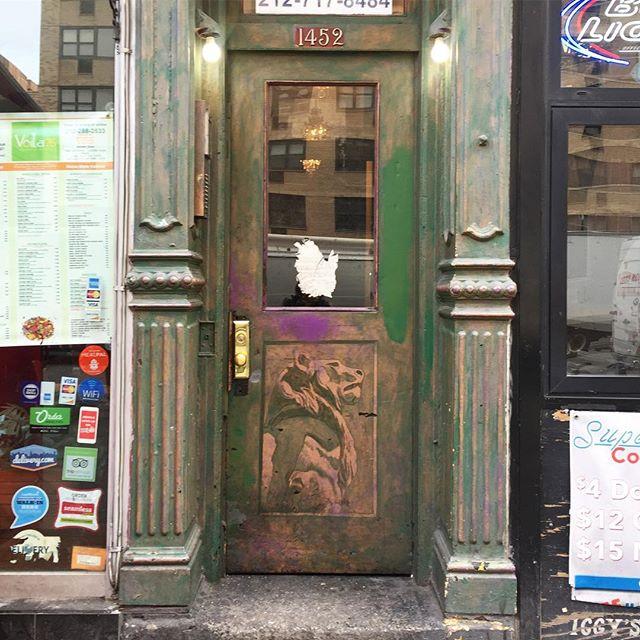A lion's door from @mystiic.al. #doorwaysartshow #friendsdoorways #doorwaysofnewyorkcity