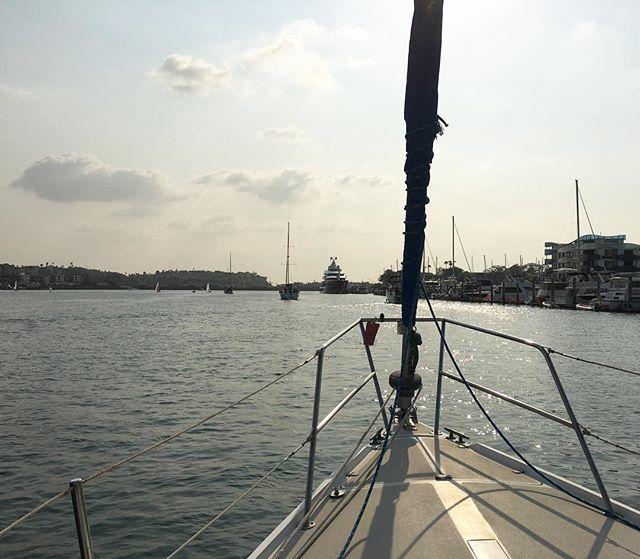 Sailing, a passageway to the ocean. #doorwaysartshow #figurativedoorways