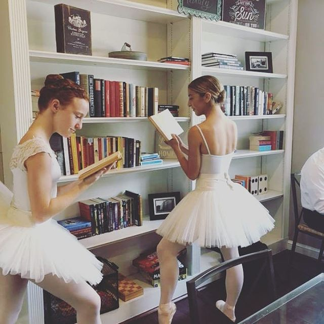 Enjoy a magical Nutcracker Tea at @oldmillcafe_ec with the Ellicott City Ballerina Project, 12/8 @ 3 pm. Ticket link in bio.