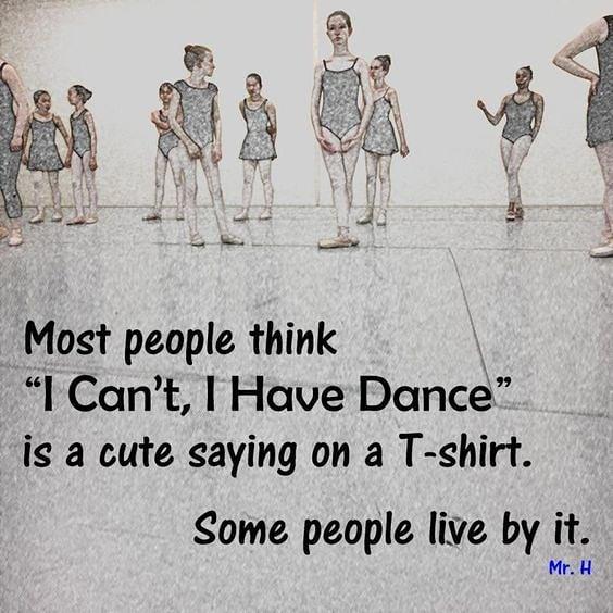Wise words from @hirschlballet #balletquotes