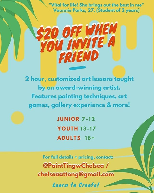 Introducing Painting lessons for All Ages, DM for details! . . . . . . #painting #lessons #art #ajax