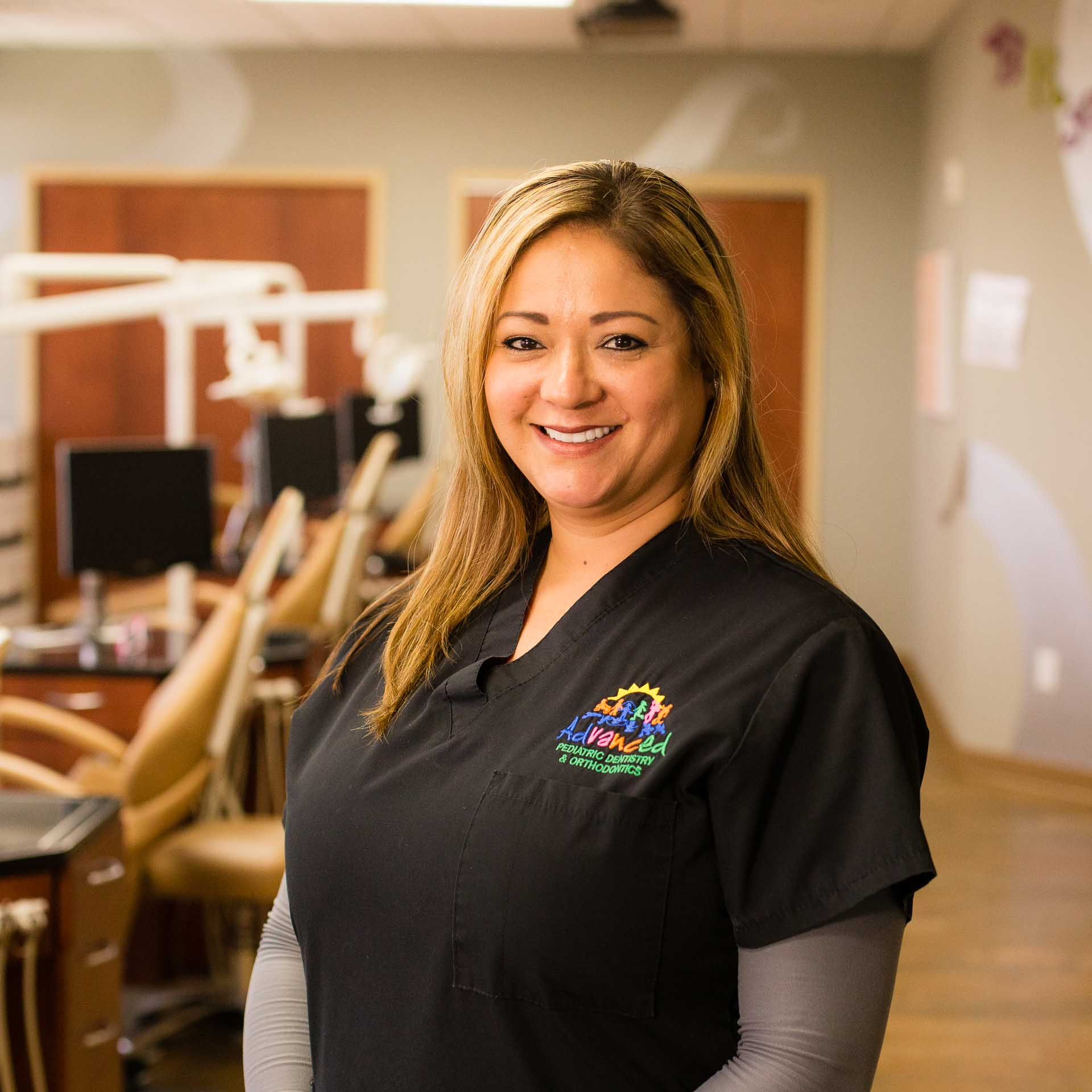 Nelida - Lead Assistant (Pediatrics & Orthodontics) - Hi, my name is Neli.  I was raised in the Tri-Cities.  I am a mother of three. I love to be a positive role model for my children.  I started working as a dental assistant in 2005. I joined Advanced Pediatric Dentistry and Orthodontics in May of 2011.  Working with children keeps me young at heart and I find my job very rewarding. When I am not in the office, I love being outdoors and spending time with my family.