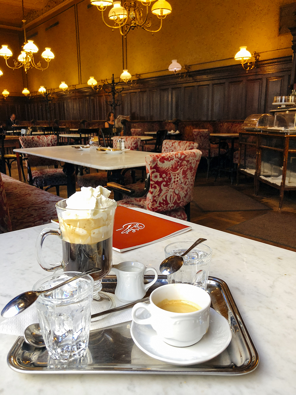 Viennese Coffee at Cafe Sperl