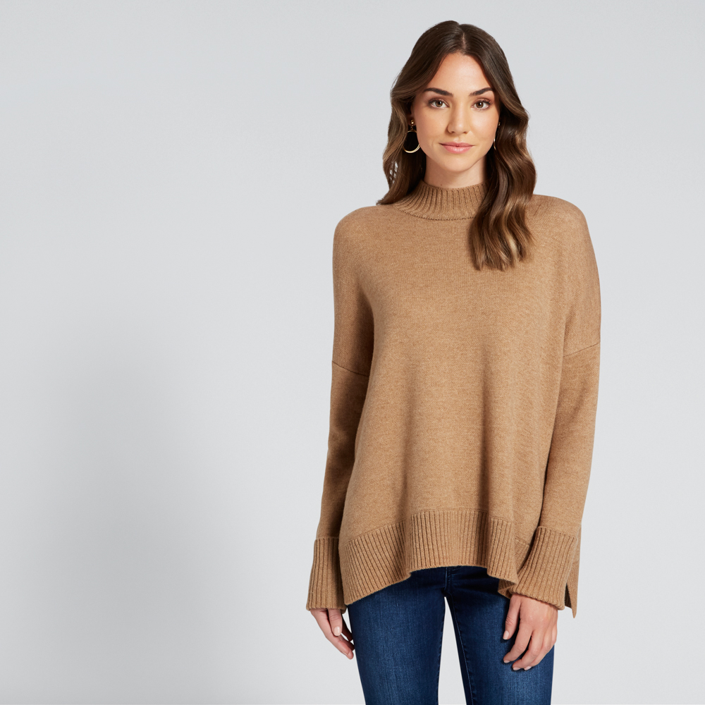 SEED Cuffed sleeve knit $139.95