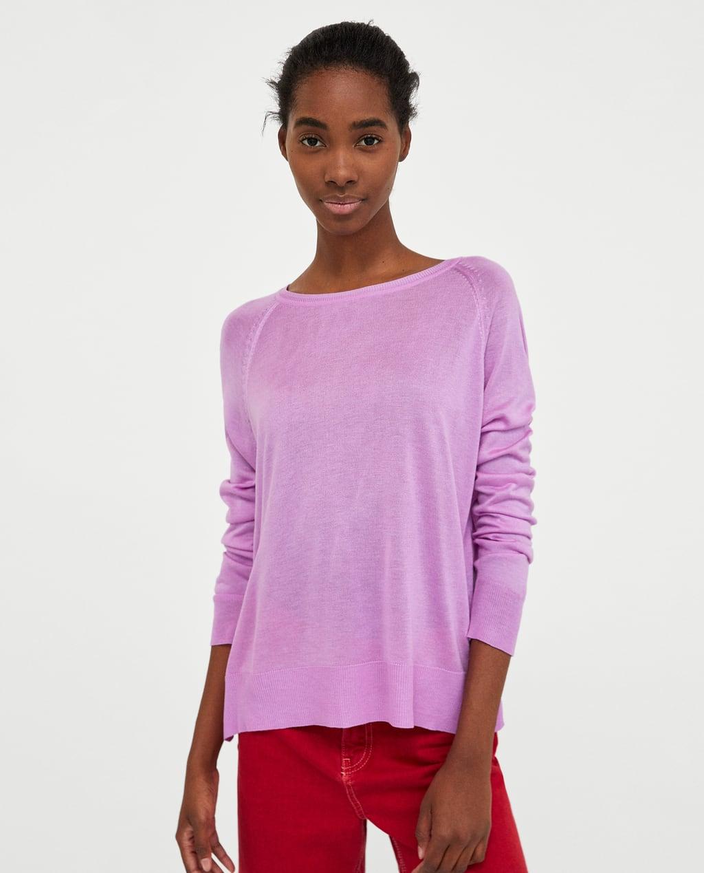 ZARA New basic sweater $25.95