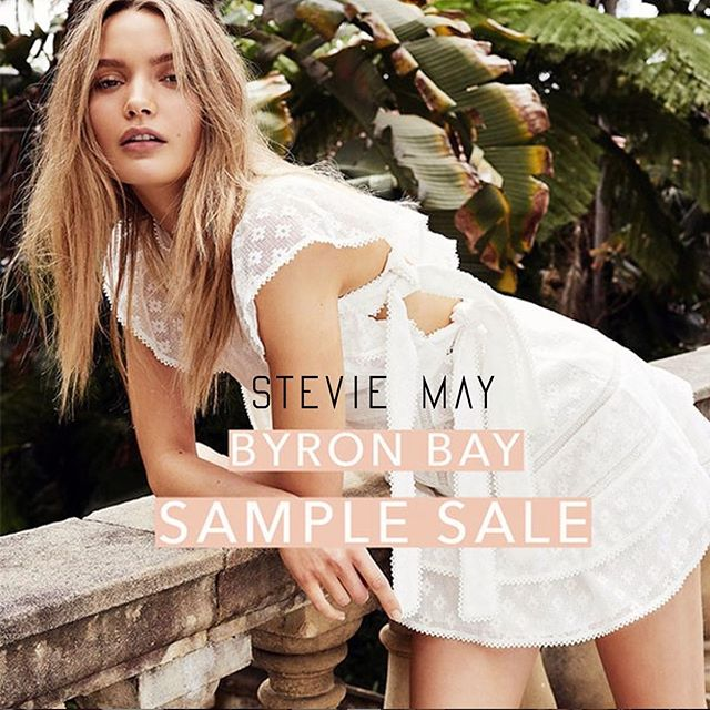 // COMING UP // . Join us on Thursday & Friday at Habitat for the @steviemay_byronbay EOFY Sample Sale ✨ 🙌🏼 💸 . ⠀⠀⠀⠀⠀⠀⠀⠀⠀ 2 huge days of samples & heavily discounted new & past season stock . ⠀⠀⠀⠀⠀⠀⠀⠀⠀ ► Thurs 18th & Fri 19th July, 9am - 4pm . ► Cash & card accepted . ___________ #HabitatByronBay ##steviemay #ByronBay #SampleSale