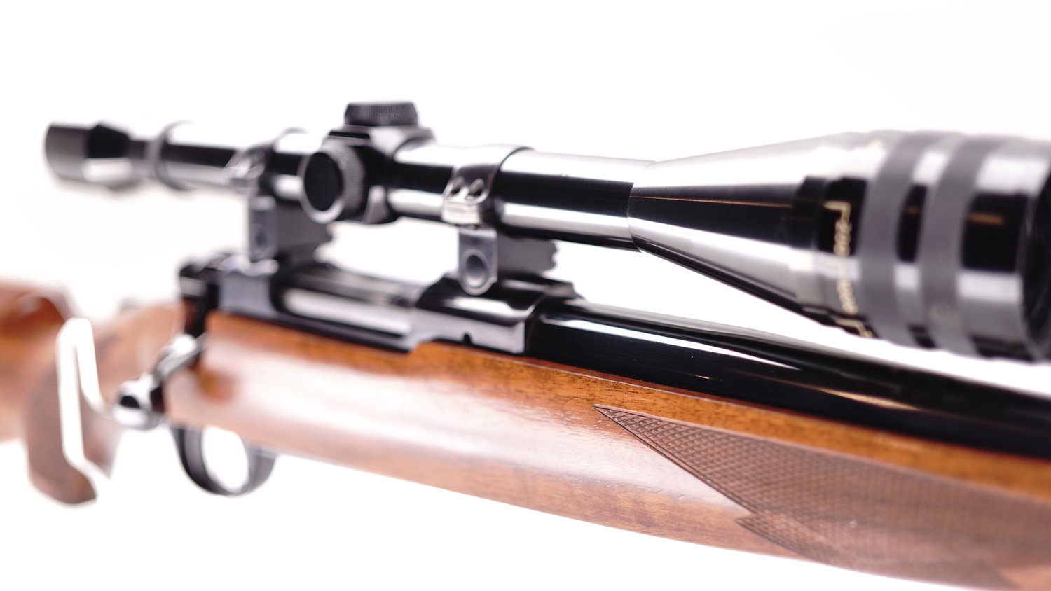 RUGER M77 IN 22-250 WITH WEAVER K12 MICRO TRAC.