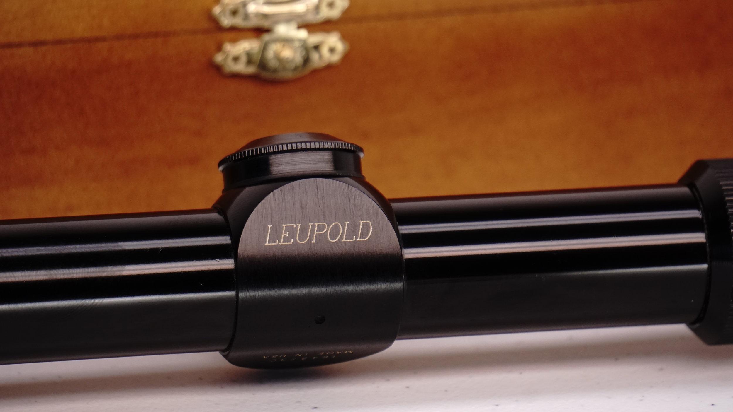 Vintage gun scopes — leupold vari x iic. 3x9x duplex.