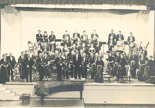 Peninsula Symphony in 1954