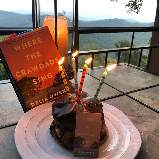 Today, Where the Crawdads Sing is celebrating one year on the New York Times Bestseller List!! Thank you everybody. Leaving for my next book tour and hope to see you along the way.♥️
