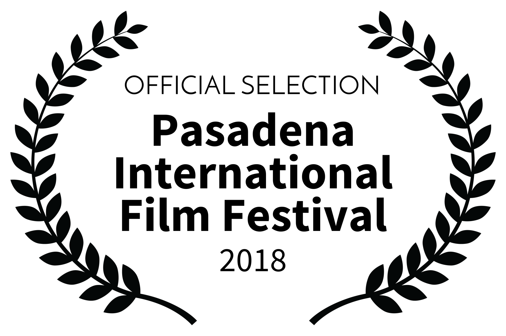 OFFICIAL SELECTION - Pasadena International Film Festival - 2018.png