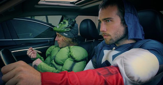 What are these two super heros up to? . - In N Out! - . 🔥Coming soon to a phone theatre near you🔥 . . . ⭐️ @william_walker ⭐️ @mickey.r_ . Produced by: @radiantimages @michaelmansouri @Syrous Nabatian @quimera_la  Cinematographer @paolatrulin  Directed by @salvador_lleo . . . #onset #makingmovies #director #directing #actor #actorslife #actorswanted #bestperformance #light #camera #action #love #film #filmaker #filmmaking #goals #faceyourfears #rollcamera #cinematography #instagram #instadaily #inspiration #instagood #tvshows #filmakers #meditation #goals #vision #🎥 #🔥