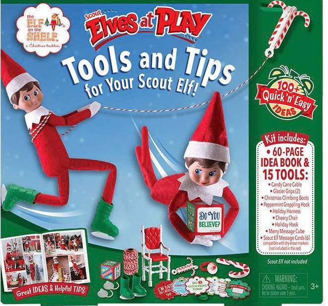 Elf on the Shelf keeping kid's accountable this Christmas