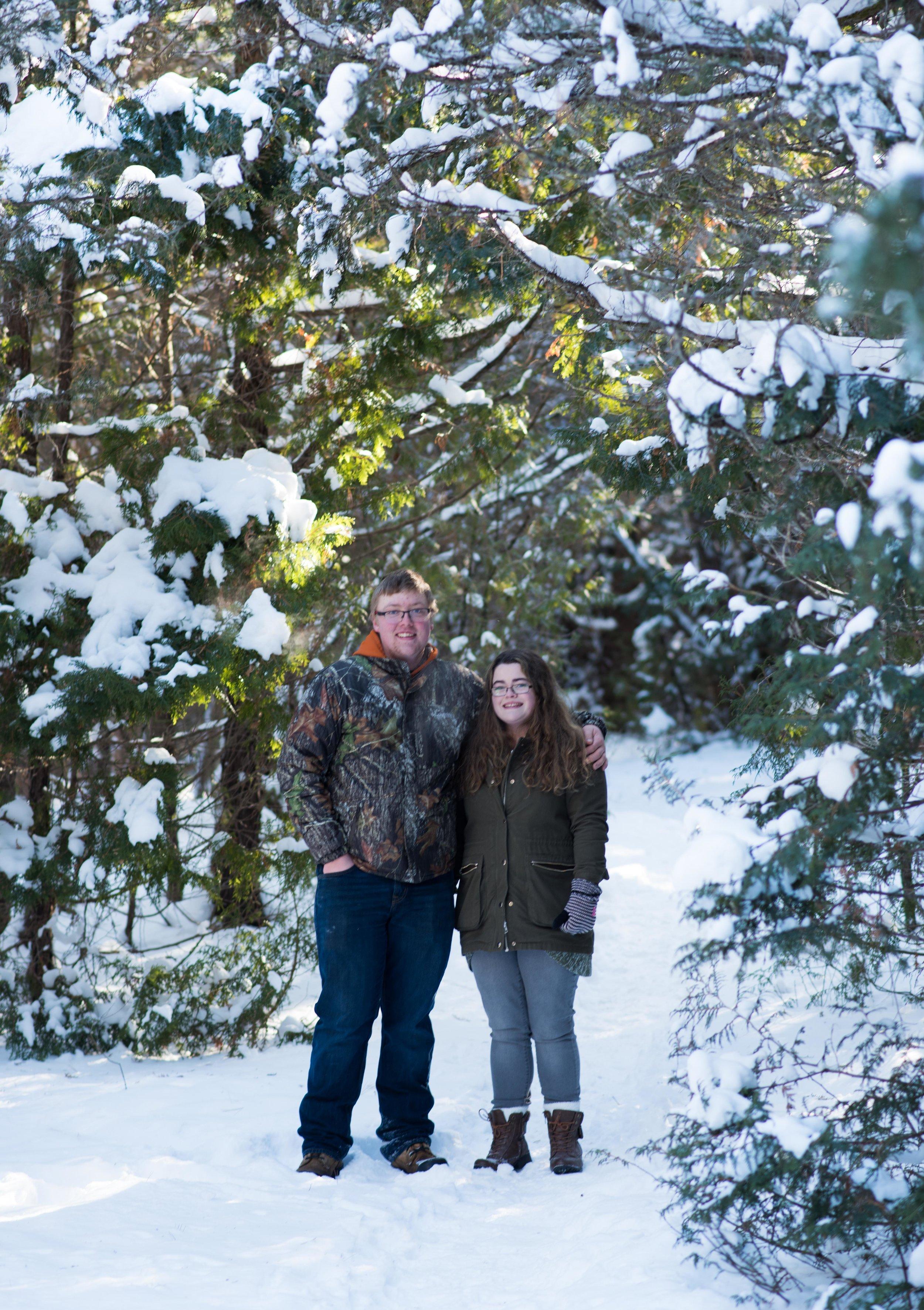 Friend Winter Photoshoot Russett Photography