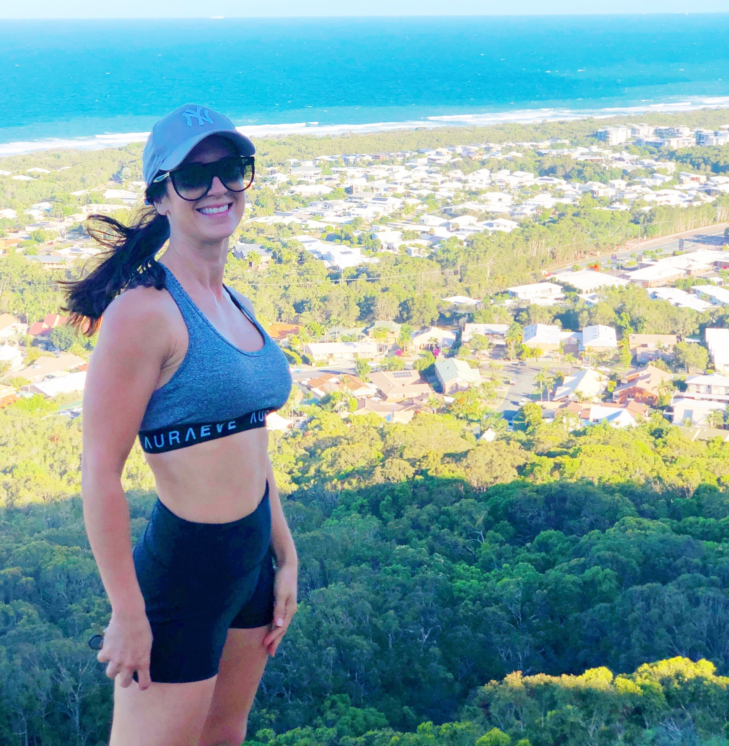 On top of Mount Coolum