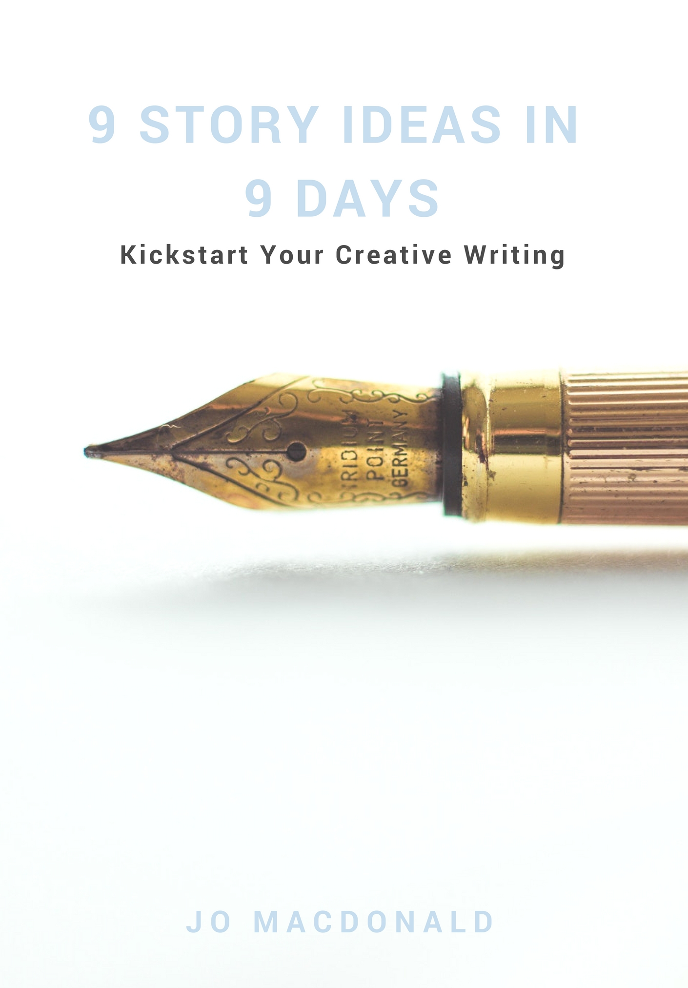 - Want to write but struggling to come up with an idea? Creativity is like a muscle, it needs strengthening and the best way to do that as a writer is to stop thinking and get writing. This mini-guide takes you through simple daily exercises to generate at least 9 story ideas over 9 days. If you want to write a novel, short story or screenplay then this little guide will help kickstart your creative writing and get you feeling inspired.Plus, once you've chosen an idea to work on, you'll find 65 cool questions to help you create amazing characters. Because it's the characters that make your story memorable.£3