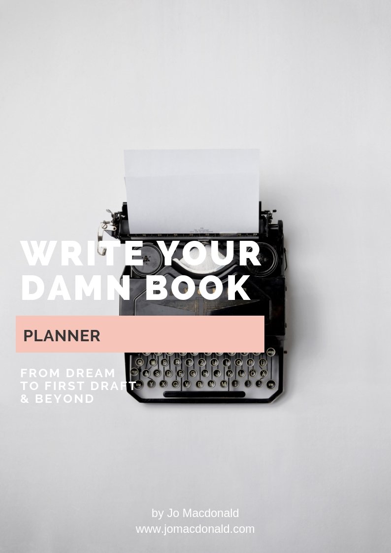 Write Your Damn Book planner