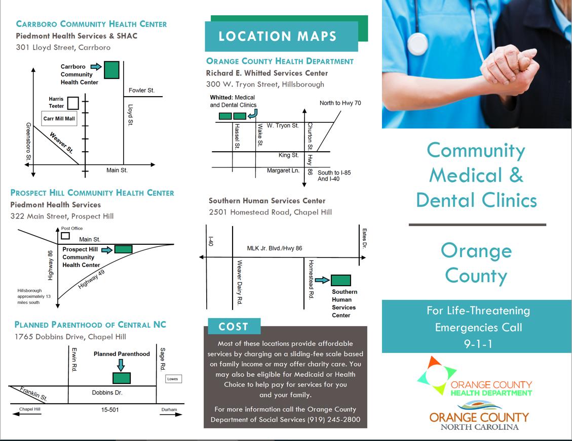 Orange County - Community Medical & Dental Clinics
