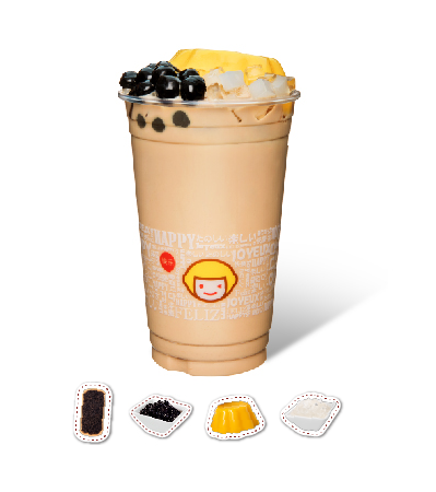 Richness Milk Tea with Pudding