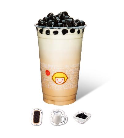Aromatic Milk Tea with Pearl sago