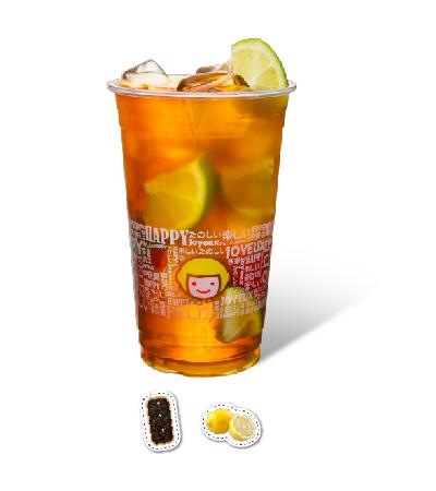 Freshly Squeezed Lemon Green Tea
