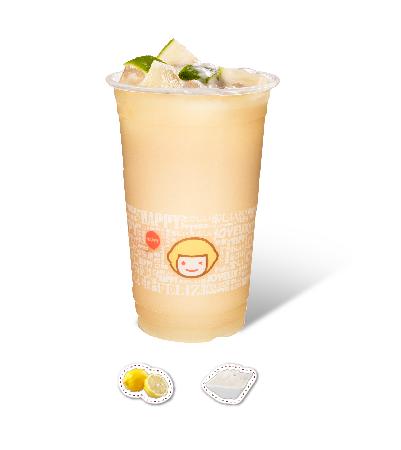 Lemon Yogurt with QQ Jelly