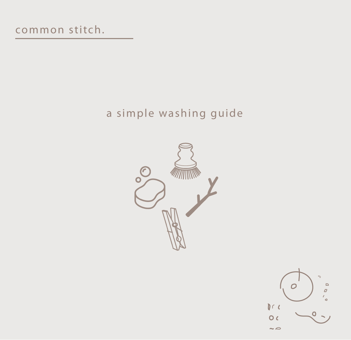 a washing guide. - all you need to know for hand washing yourlinens like a pro